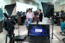 Entrevista a William Wong en Exitosa